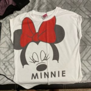 Original Disney white minnie shirt